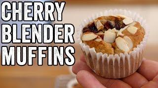 CHERRY BLENDER MUFFINS | Fat Boy Slimming #4 by  My Virgin Kitchen