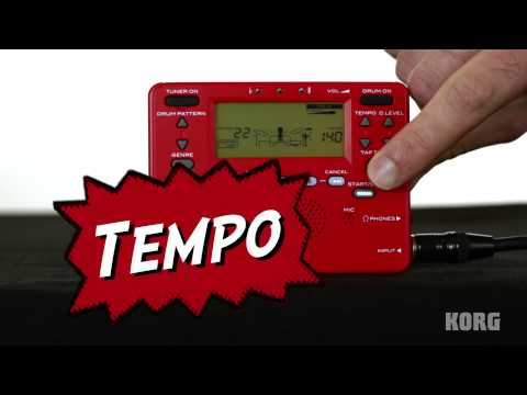 Korg Beat Boy - Rhythm, effects, recorder, and a tuner, all in one compact package!