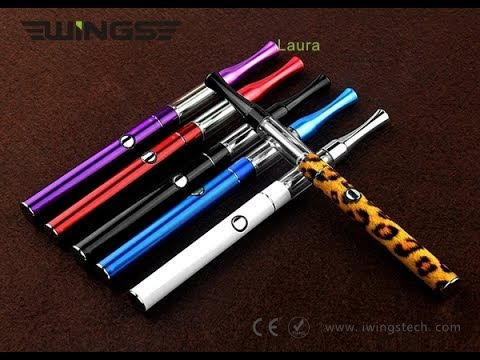 Laura E-Cig from IWingsTech Mini EGO Style