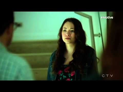 You are grounded! - Motive S03E04 scene with Jodelle Ferland - HD