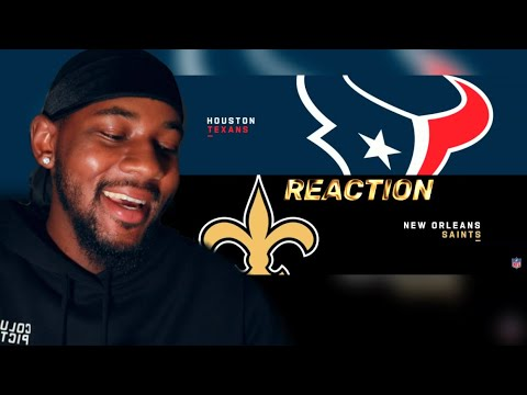 Texans vs. Saints Week 1 Highlights | NFL 2019 🏈 REACTION