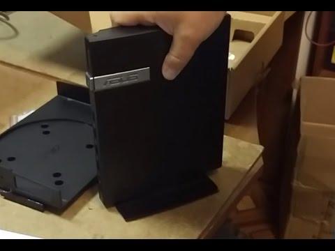 Asus E410 распаковка unboxing VESA-mount крепление на монитор