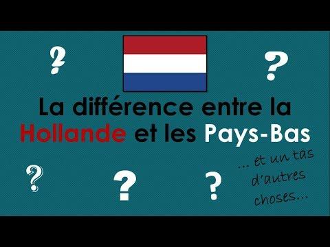 La différence entre la Hollande et les Pays-Bas