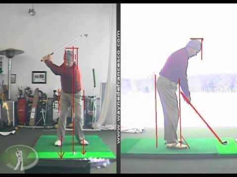 Wayne DeFrancesco self analysis of his golf swing 2011