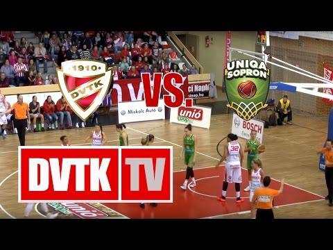 Női kosárlabda NB I. A-csoport 13. forduló. Aluinvent DVTK  - Uniqa Sopron