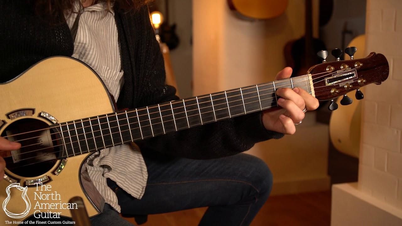 Gaffney OM Cutaway Acoustic Guitar Played By Brian Love (Part One)