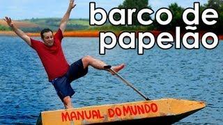 Como navegar em um barco de papelão
