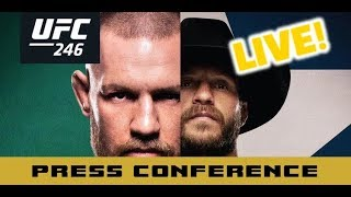UFC 246 Post-Fight Press Conference: Conor McGregor vs Cowboy Cerrone