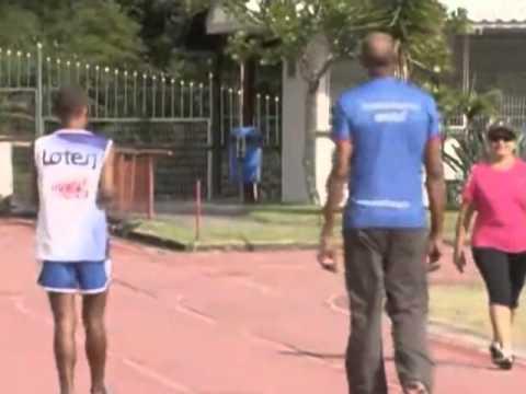 Atleta volta a competir depois de acidente