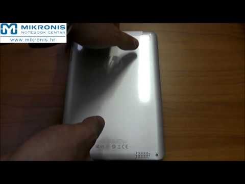 Unboxing Tablet HP 8 1401