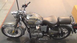 8. Royal Enfield Classic Chrome (2017) Exterior and Interior in 3D