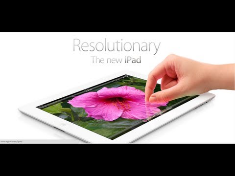 the new ipad 3 -