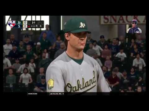 MLB The Show 18 LIVE Stream - The Mariners Franchise Vs The Oakland Athletics