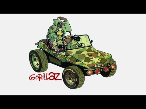 Gorillaz - Clint Eastwood (With Intro) (Explicit)