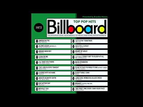 Billboard Top Pop Hits - 1972 (видео)