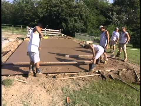 Pisos cemento peinado videos videos relacionados con - Como hacer un piso de hormigon ...