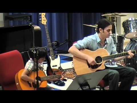 "Flying Fingers Spring Concert 2012 – Nik Vijay – ""Sunshine of your Love"""