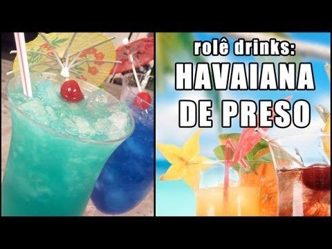 drinks - Blue Hawaiian! Aprenda a fazer esse refrescante drink que lá fora é sinônimo de verão! E que aqui também é, mas também pode lembrar você daquele espancamento...