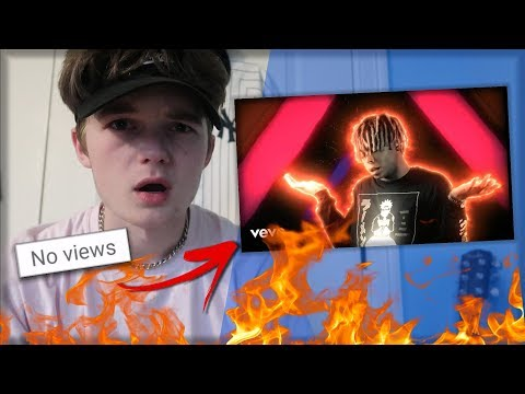 REACTING TO MUSIC VIDEOS WITH 0 VIEWS! (CRAZY!)