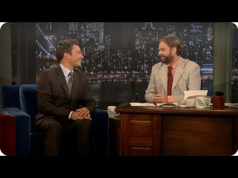 Late Night with Jimmy Fallon - Subscribe NOW to Late Night with Jimmy Fallon: http://full.sc/IcjtXJ Jimmy and Zach find themselves in unfamiliar positions and it gets awkward while promoti...