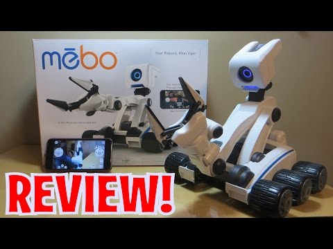 Unboxing MEBO Robot Toy from SkyRocket Toys (FULL REVIEW)