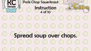 KC Pork Chop Sauerkraut YouTube video