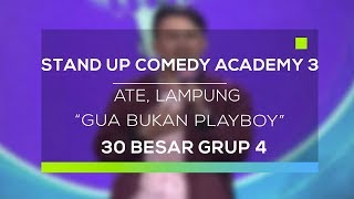 Video Stand Up Comedy Academy 3 : Ate, Lampung - Gua Bukan Playboy MP3, 3GP, MP4, WEBM, AVI, FLV November 2017