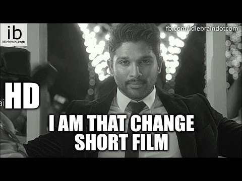 Allu Arjun's I am that Change short film