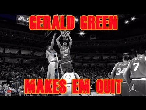 @TwoBrosGaming - NBA 2K13 MyTEAM Gerald Green Makes Them Quit Games 1 and 2