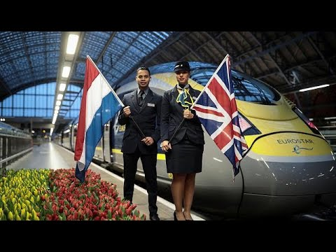 Eurostar: Λονδίνο – Άμστερνταμ σε χρόνο ρεκόρ