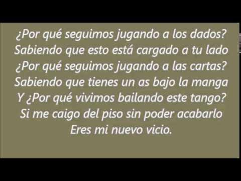 Paulina Rubio ft. Morat- Mi Nuevo Vicio (Lyrics)