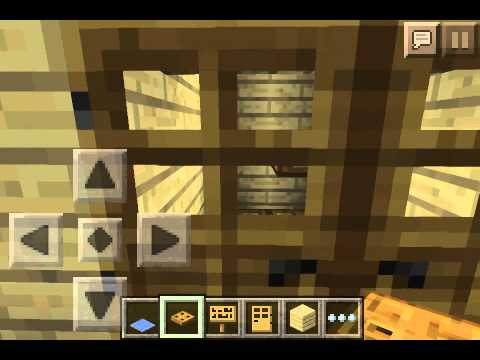 how to make trap doors in minecraft pe