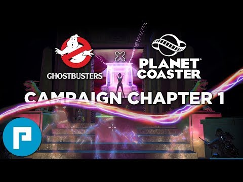 👻 Planet Coaster: Ghostbusters | Full Campaign Playthrough | Chapter 1: Who Ya Gonna Call?
