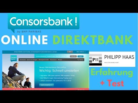 Consorsbank Girokonto / Tagesgeld / Onlinedepot eröffnen: Test und Erfahrung