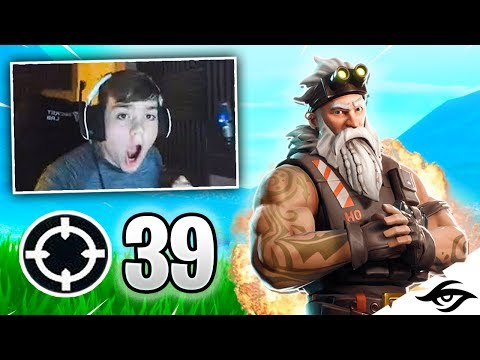 Mongraal | Intense 39 Kill Solo Vs Squads Win! (fortnite Battle Royale New Record)