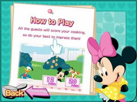 Minnie Mouse Dinner Party Game