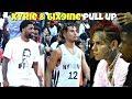 Tekashi 6ix9ine & Kyrie Irving Watch Cole Anthony at Rucker Park! #NYvsNY