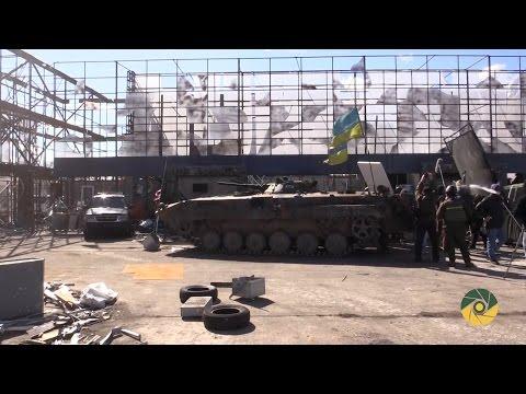 Военный аэродром под Черниговом стал Донецким аэропортом: видео работы над новым фильмом
