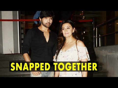 Himesh Snapped With New Girlfriend Sonia At Tubeli