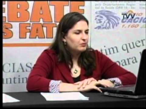 Debate dos Fatos 27/04/2012 parte 06 - Fabíola Alves