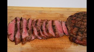 """This Reverse Seared Steak was cooked on my Camp Chef Woodwind Pellet Grill. The thing that made this Reverse Seared Steak better than cooking it on a """"normal"""" pellet grill was that I was able to Sear the Steak off using the Side Sear Box that is available on the Camp Chef Woodwind Pellet Grill. Reverse Searing is definitely the best way to Cook A Steak in my opinion, whether you are cooking on a Charcoal Grill, Pellet Grill, or even in the oven.How I Reverse Seared This N.Y. Strip Steak on the Camp Chef Woodwind:* I seasoned the Steak with Salt and Pepper and let it rest for about    30 minutes.* After the Steak Rested for 30 minutes I put them in them in the    smoker  on 225 degrees.* When they hit 114 degrees internal temperature I removed them    from the grill and let them rest while the sear box came up to    temp.* When the Camp Chef Side Sear box was screaming hot I grilled   them for a about 45 seconds, then turned 90 degrees and grilled   another 45 seconds, then flipped again and repeated.****This is something that you need to play by ear. The timing may be different each time you cook a steak******* After The Steak was Seared I let it rest for about 15 minutes before cutting into it.Here is a helpful guide to help you get your desired Steak Temperatures for Steak:Rare 130 to 135°F Medium Rare 140 to 145°F Medium   155°F    """"YOU""""RE ABOUT TO MESS IT UP""""Well Done 165°F   """"NOOOOOOOO""""Check Out The Camp Chef Woodwind Here: https://www.campchef.com/woodwind/woodwind-grills.htmlSubscribe: https://www.youtube.com/channel/UCFEYEmgRDiTZsE2cPfF2uOgFacebook: https://www.facebook.com/nohippiebbqhttps://www.facebook.com/lyle.whitlockTwitter: https://twitter.com/nohippiebbqGoogle+: https://plus.google.com/b/104776977338810471856/+NoHippieBBQCooking/posts?pageId=104776977338810471856Video URL: https://youtu.be/K9D6oBzgcZ0Reversed Seared NY Strip"""