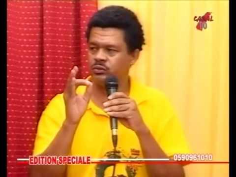 """Elie Domota (LKP, Guadeloupe) : """"il y aura des morts ! """""""
