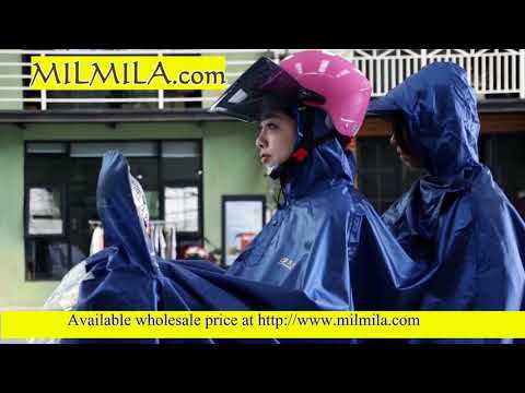 Windproof Rain Coat with Face Mask for Motorcycle India wholesale product
