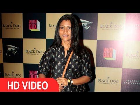 Konkona Sen Sharma At Red Carpet Of Black Dog Easy Evenings