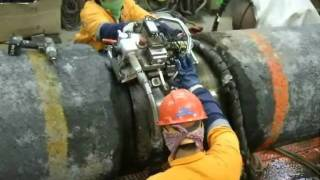 Welding and Coating of Steel Pipe