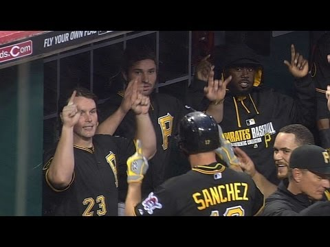 Video: Pirates embrace WWE 'YES, YES, YES' chant