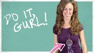 Dream Catcher Necklace - Do It, Gurl - YouTube