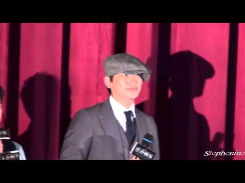 091126 Fancam - HK Ninja Assassin Premiere by stephenine