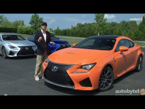 2015 Lexus RC F Track Test & Review