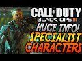 Black Ops 3 - MULTIPLAYER CHARACTERS - Special Weapons and Abilities! (BO3 Special Abilities)